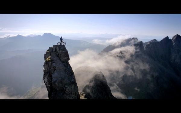 Als er auf 3500m Höhe den Sprung wagte, stockte mir der Atem.
