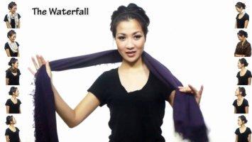 25 geniale und einzigartige Wege den Schal zu tragen. Und jeder ist kinderleicht.