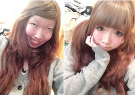 Mädchen in Japan bekommen