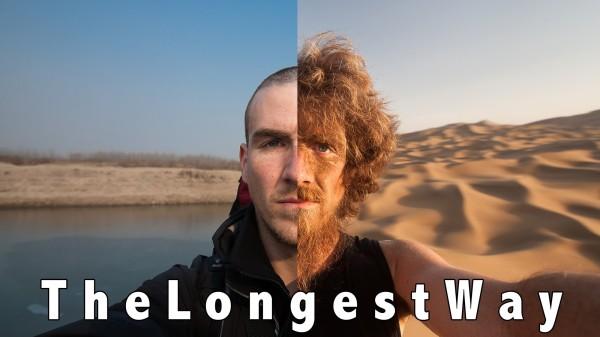 Dieser Mann ist Tausende von Kilometern durch China gelaufen. Aber am Ende ist er ein anderer Mensch.