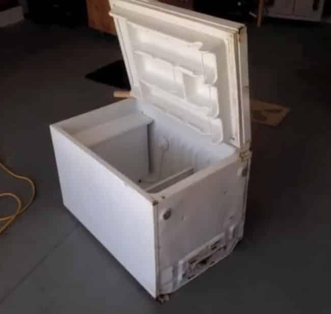 was man aus einem alten k hlschrank machen kann wird alle g ste begeistern. Black Bedroom Furniture Sets. Home Design Ideas