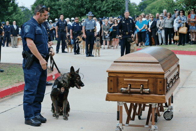When_This_Hero_Was_Laid_To_Rest_He_Was_Truly_Honored…_And_He's_A_Dog.4