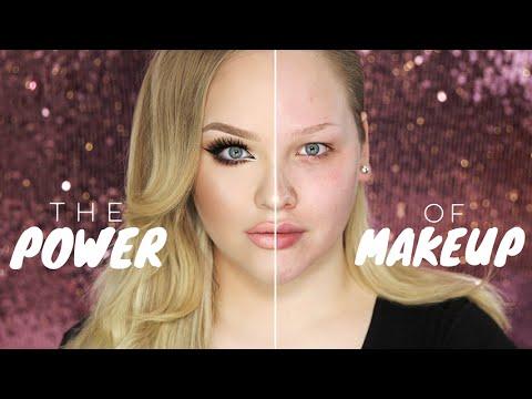Sie zeigt wie unglaublich stark Make-up das Gesicht verändert! Das Ergebnis macht mich sprachlos.