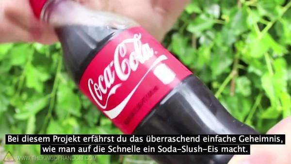 So machst du vor allen Augen Cola zu Eis. In 3 Sekunden.