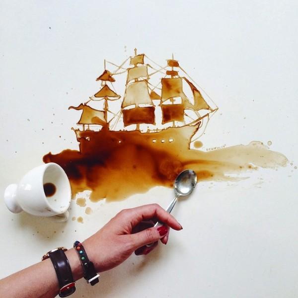 Spilled_Food_Turned_Into_Beautiful_Art_By_Giulia_Bernardelli