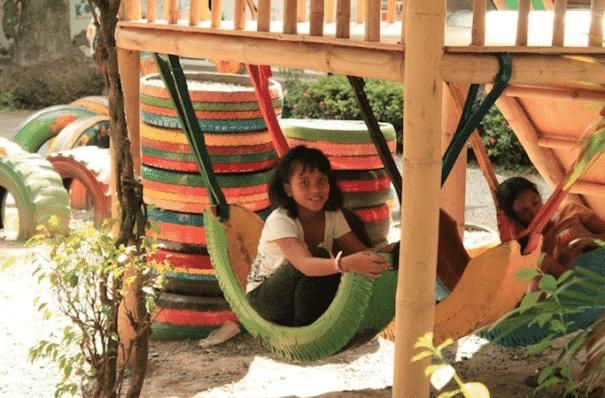 Alte Reifen In Tolle Dekorative Mobel Zu Verwandeln Ist Kinderleicht