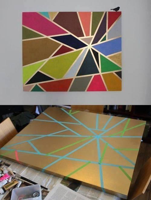 Faldekoráció-Festmény2