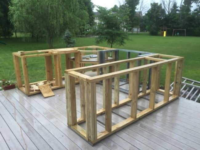 Sommerküche Im Garten Bauen : Sommerküche im garten: sommerküche barbeque. ideen für ihre eigene
