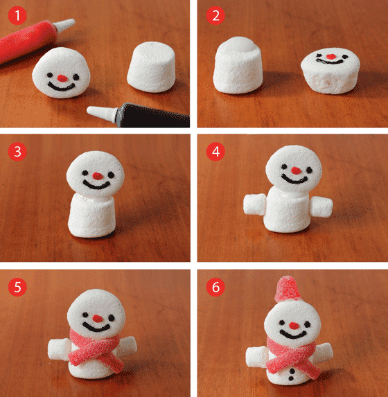 how-to-make-marshmallow-snowmen