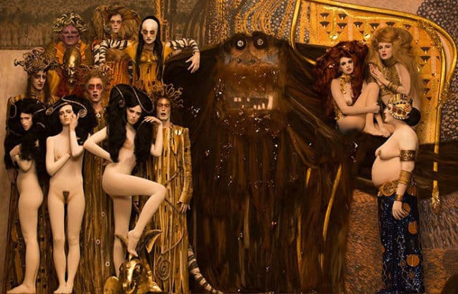 How_to_bring_back_to_life_Klimt_artworks_with_real_models2