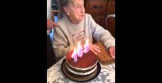 Der wohl schönste und witzigste 102. Geburtstag, den Sie bisher gesehen haben!