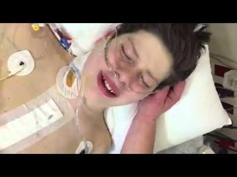 Was der Junge nach seiner Herztransplantation sagt, lässt mir die Tränen in die Augen schießen.
