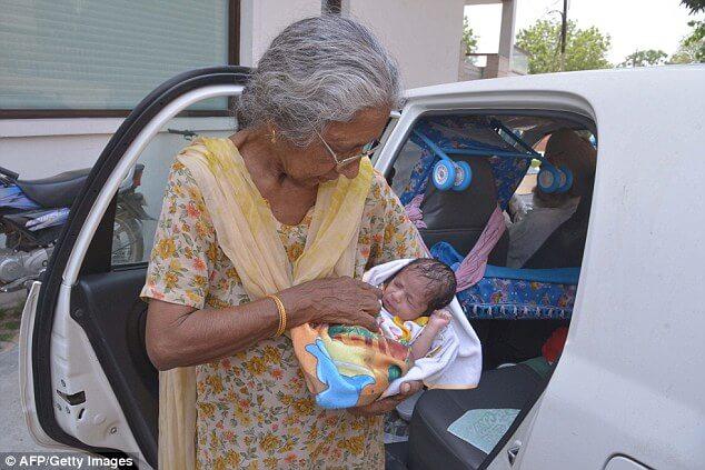 Die älteste Mutter Der Welt