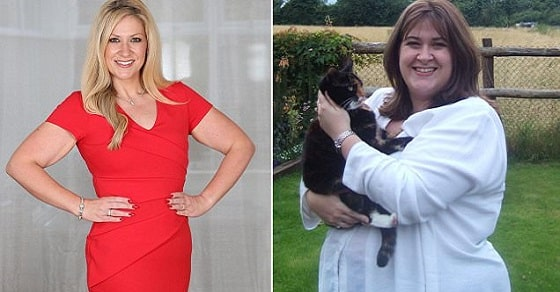 19/10/16. Femail: Janet French photographed at her home in Swindon. Janet was a size 30 and weighed 22.5 stone at her heaviest but could not stop eating. Blood tests revealed that she was over-producing hunger hormone ghrelin and she had part of her stomach cut away to stop her body over producing it. She now weights 10st 6lbs and is a size 10. Feature for Femail...Picture: John Lawrence 07850 429934