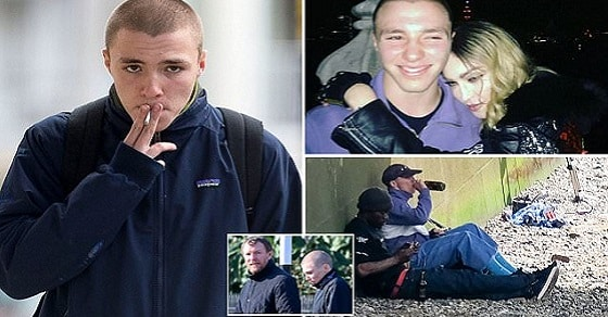 BREAKING NEWS: Madonna's son Rocco Ritchie, 16, is arrested for possessing cannabis in drugs bust Rocco was allegedly caught with cannabis after neighbours called police Teen was reportedly seen 'smoking or doing drugs' near London home  The 16-year-old is currently at the centre of a bitter custody dispute   Read more: http://www.dailymail.co.uk/news/article-3962614/Madonna-s-son-Rocco-Ritchie-16-caught-cannabis-drugs-bust.html#ixzz4QmbU5ypA  Follow us: @MailOnline on Twitter | DailyMail on Facebook